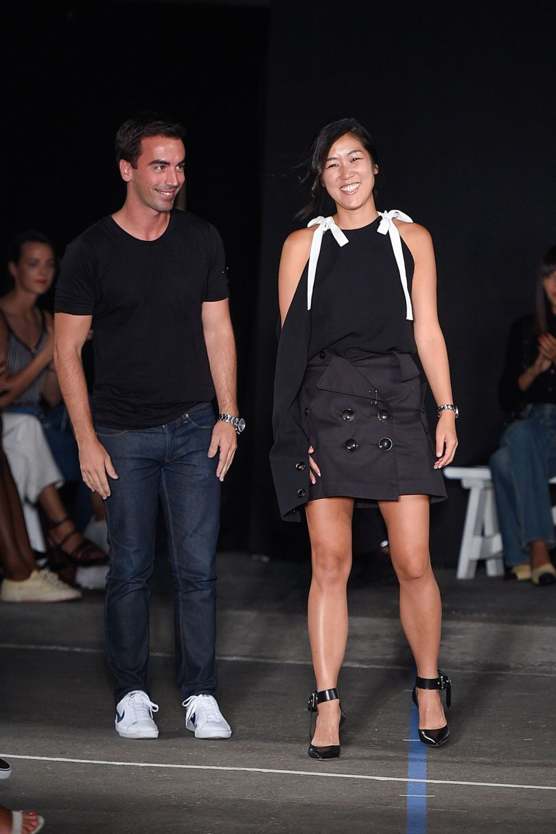 Laura Kim & her creative partner Fernando Garcia | Image Courtesy of: VOGUE