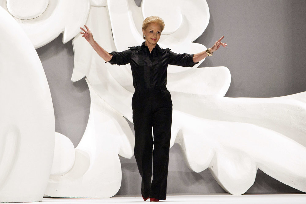 Fashion Designer Carolina Herrera | Image Courtesy of: Fashion Times