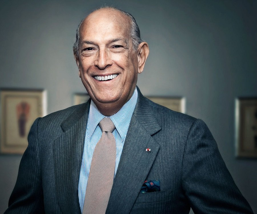 Oscar de la Renta | Image Courtesy of: Famous People