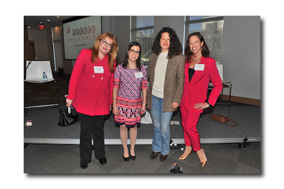 L-R:  Robin Gruber, Lisa Keith, Lauren Sherman, and Susan Scafidi | Image Courtesy of Laurel Marcus