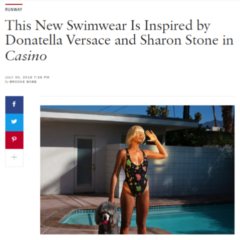 Credit: Oceanus Swimwear | Vogue