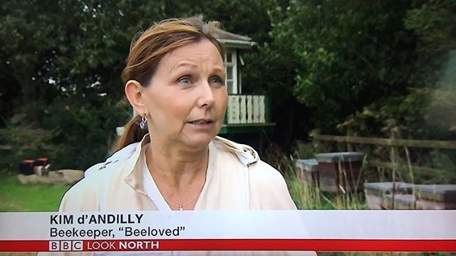We were on @bbclooknorth tonight talking about the Asian Hornet and the threat to honeybees in the UK with Katy Austin 🐝 #honeybees #asianhornets #uk #beekeepers #beekeeping #beeloved #wearebeeloved
