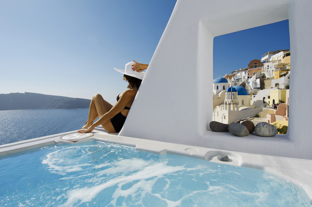 Hotel Art Maisons Oia Castle - 0.1 km from Oia city center