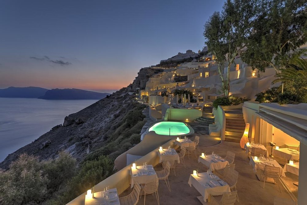 Mystique, a Luxury Collection Hotel, Santorini - 0.7 km from Oia city center