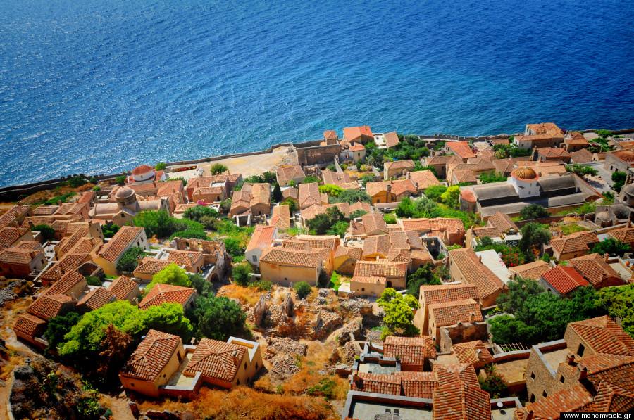 monemvasia fortress peloponesse