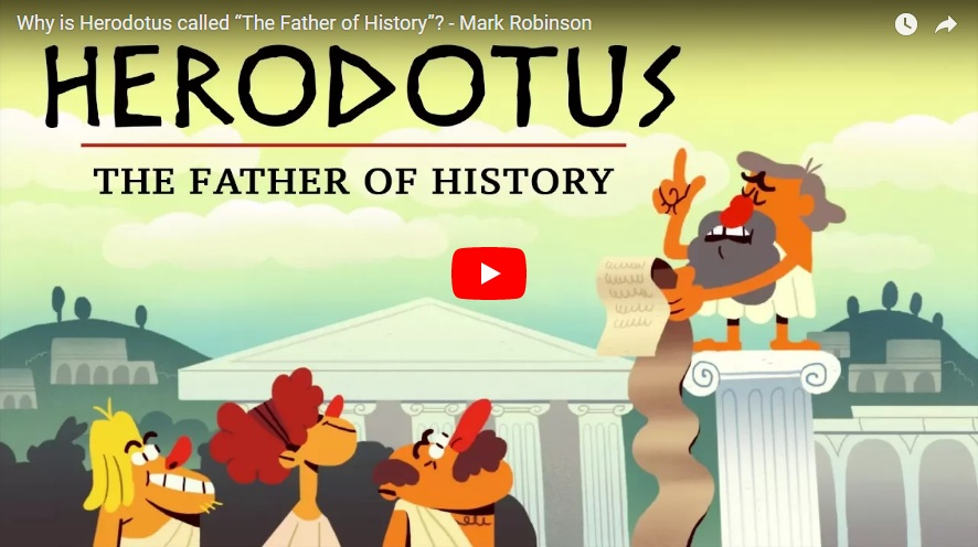 herodotus the father of history Witness the works and wonders of the ancient world through the eyes of its first great historian in this sparkling series of 24 lectures from a much-honored teacher and classical scholar.