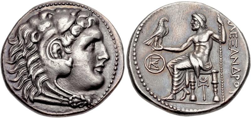 Tetradrachms of Alexander III