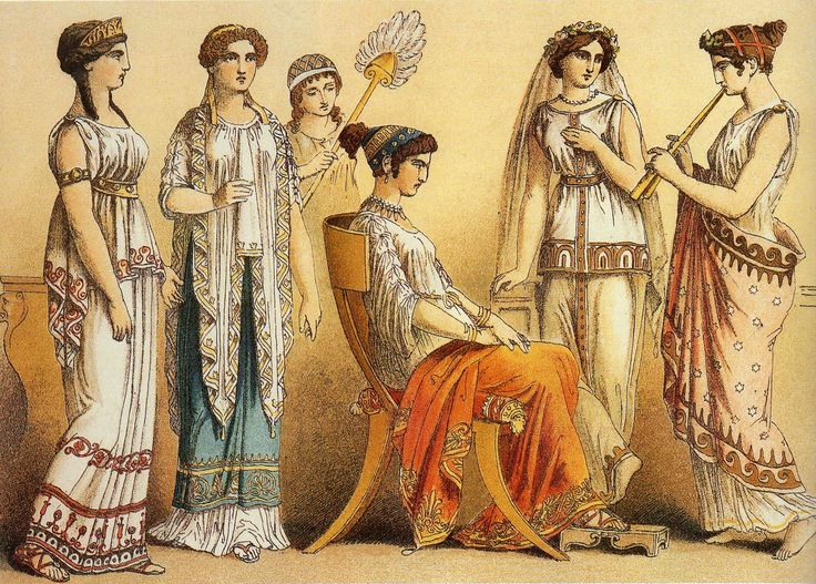 Women Of Ancient Greece painting