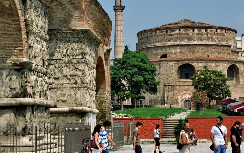 Historische sites 005 Romeinse Boog en Rotonda.jpg