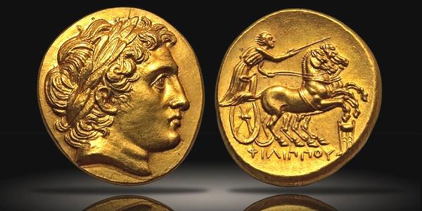 Macedonia, Philip II, struck under Philip III; Kolophon, c. 322 BC, Stater