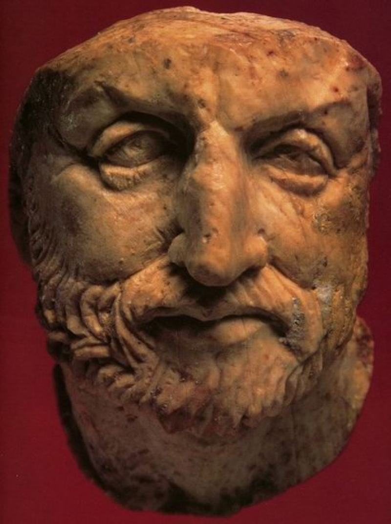 Bust of Philip II of Macedon