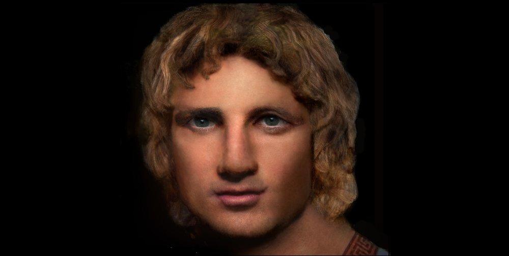 Reconstruction of Alexander the Great.  ©   John Mendez