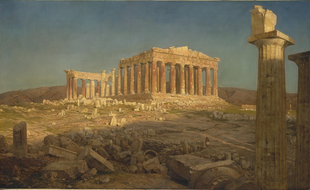 The Parthenon,  Artist: Frederic Edwin Church (American, Hartford, Connecticut 1826–1900 New York)   Date:  1871