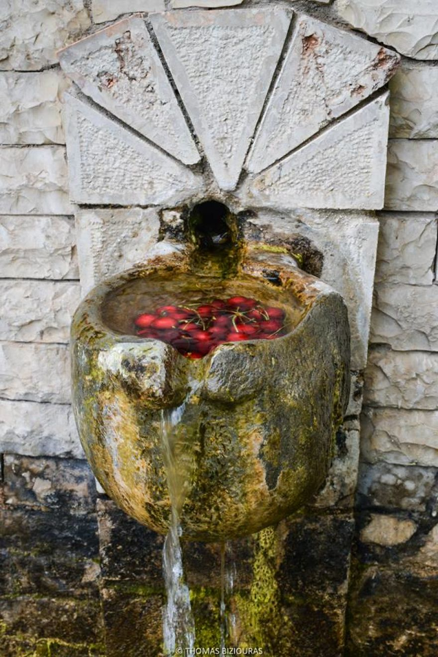 As good as it gets putting cherries in cold mountain fresh water and enjoying.jpg
