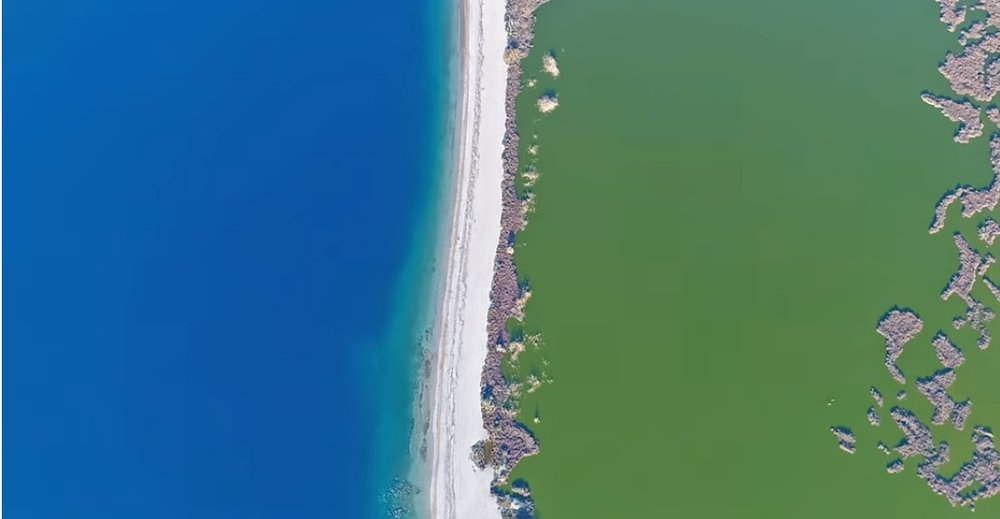 Majestic Lake in Greece Resembles Tropical Paradise.jpg