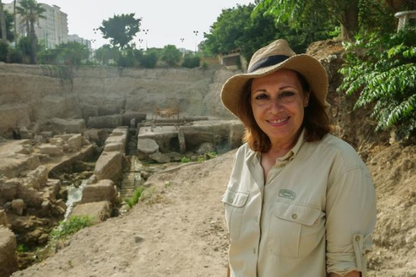 "Archaeologist Calliope Limneos-Papakosta has been digging for more than 20 years in hopes of finding the tomb of Alexander the Great. ""I have a dream,"" she says, ""and I will go on until I fulfill it.""   PHOTOGRAPH COURTESY NATIONAL GEOGRAPHIC"