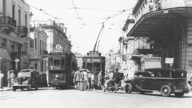The 1950s saw the rapid development of Athens