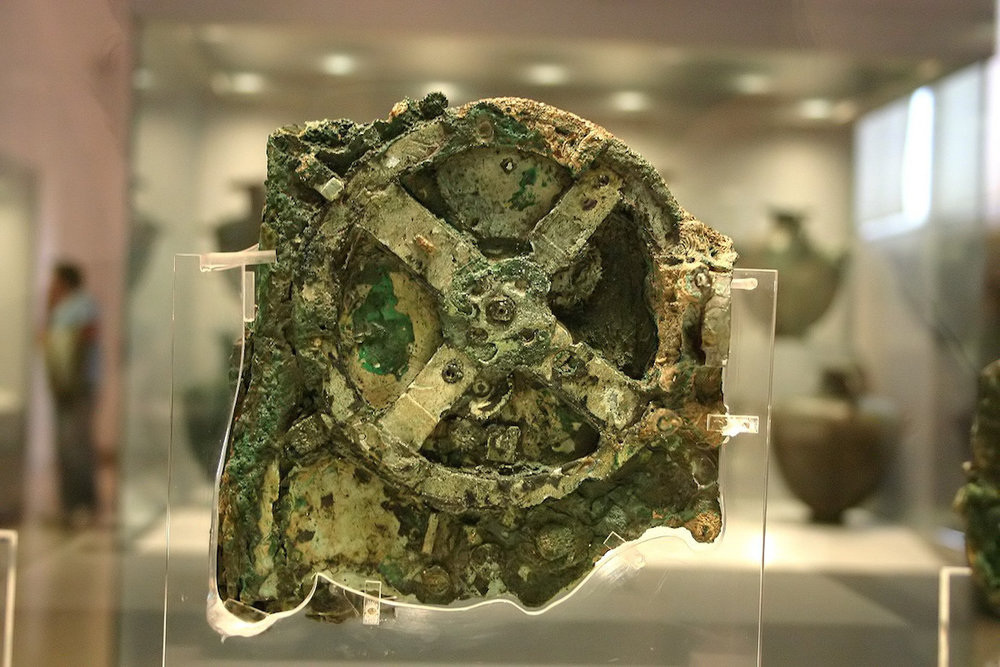 The Antikythera Mechanism on display