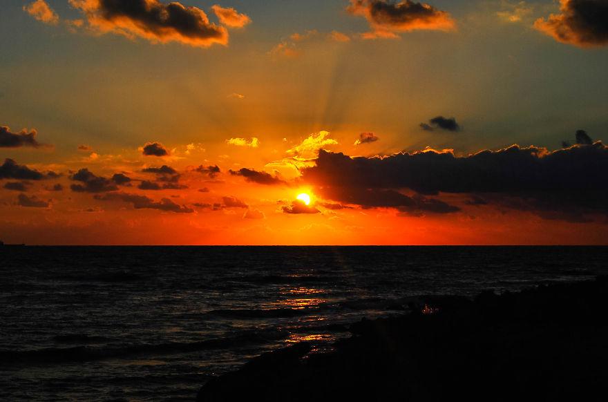 Sunset in Kounopetra