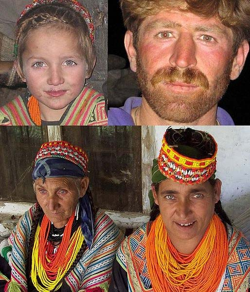 Individual people of the Kalash culture. (   CC BY-SA 4.0   )