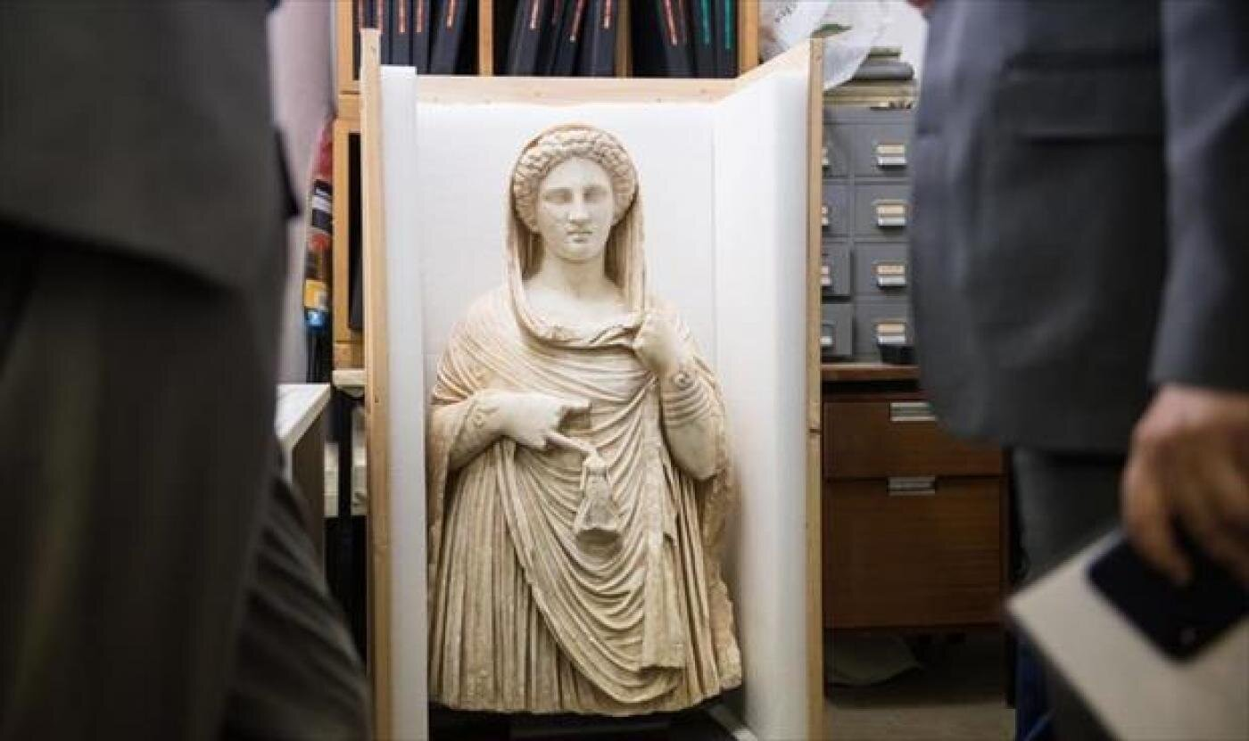 British Museum set to return ancient Greek statue looted from Libya | Libyan officials in London to facilitate return of marble statue worth £1.5m — Greece High Definition