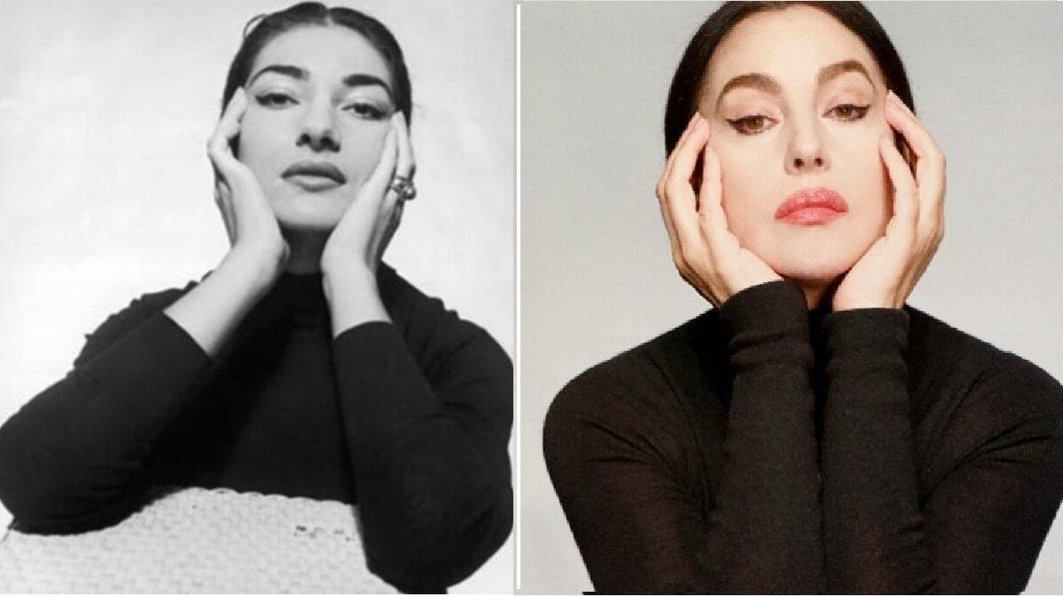 Monica Bellucci to Play Maria Callas in Athens Ancient Theatre