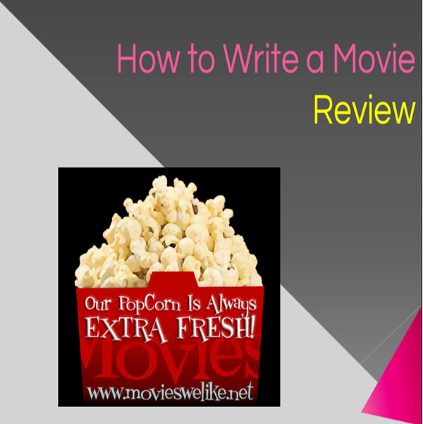 Use this presentation when teaching the key components to writing a Movie, or book review. Students are sure to understand!
