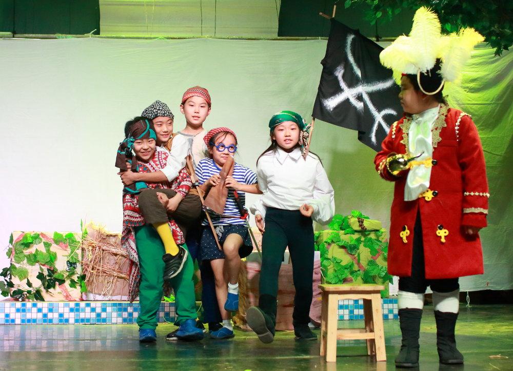 PETER PAN (Musical) - Ease DramaNorth Zhanglei Theatre  Beijing, ChinaGrade 3 Chinese StudentsJuly, 2017