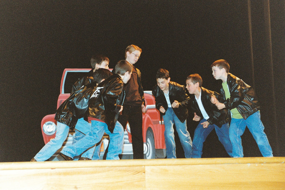 GREASE! (Musical) - Gananda Community Youth TheatreGCYT Main Stage               Gananda, NY USAMiddle School American StudentsAugust, 2003