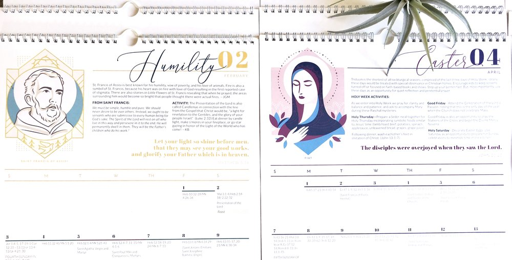 Modern Liturgical Calendar