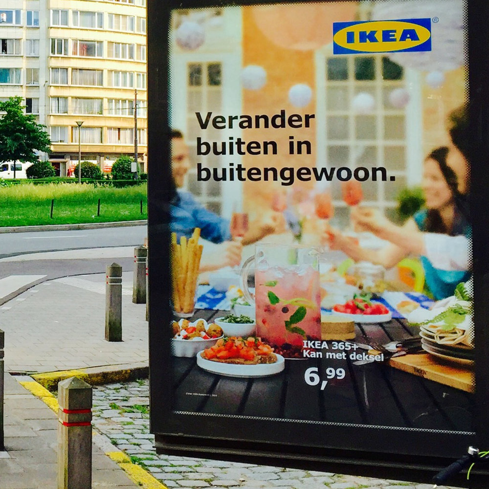 IKEA - Billboard shoot