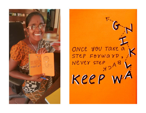 Keep walking.  #nicetomeetyouinAuroville Raja Saundari a.k.a. Raji.