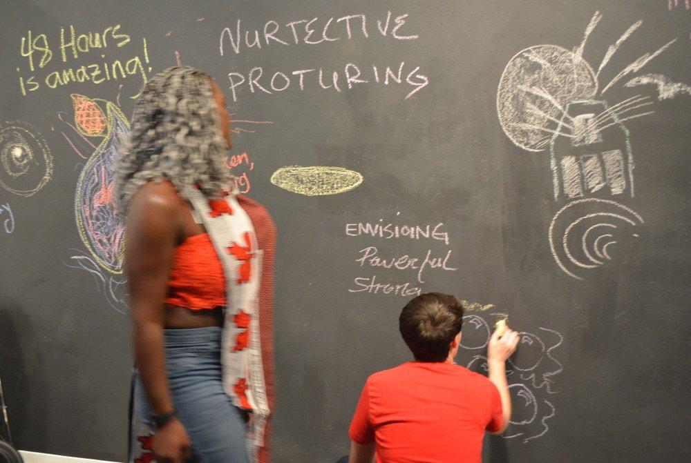 A resilience workshop Presented at redline arts in denver