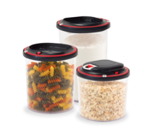 New Vestia Vacuum Sealable Dry Food Storage Containers Preserve Food