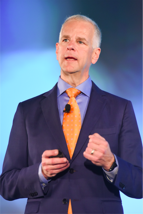 David Labuskes, CTS, CAE, RCDD, Executive Director and CEO, InfoComm International, addressing the 2016 AV Executive Conference.