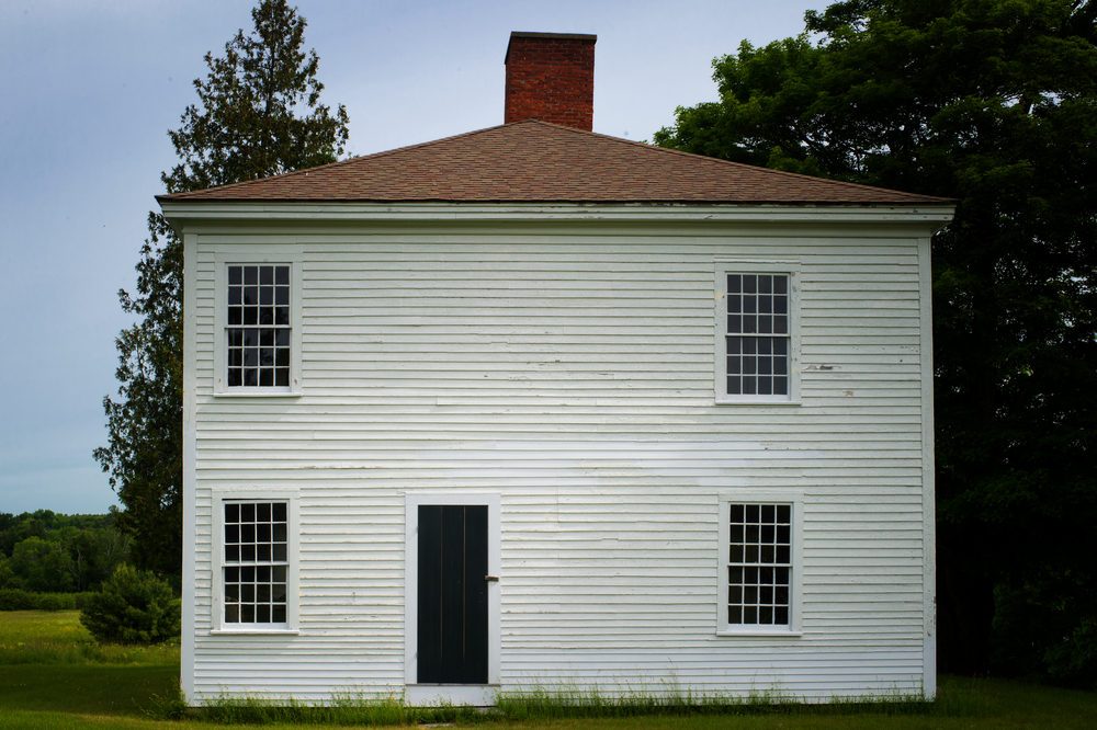 Known as the Tubbs-Reed House, built circa 1800 by Major Samuel Tubbs, a Revolutionary war veteran.