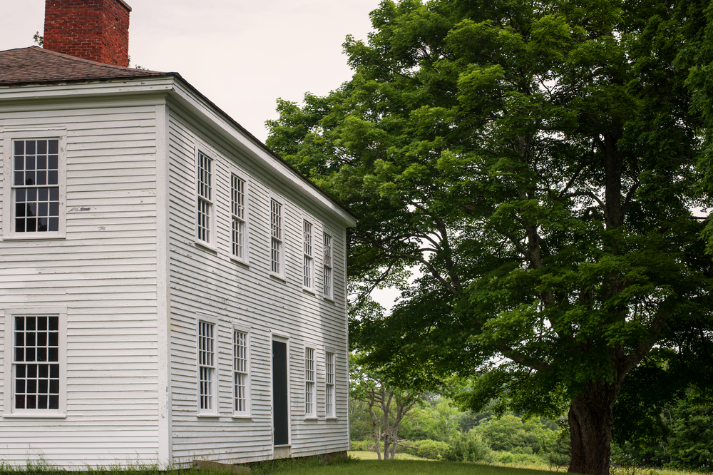 The house was sold to Captain David Reed in the 1830's.