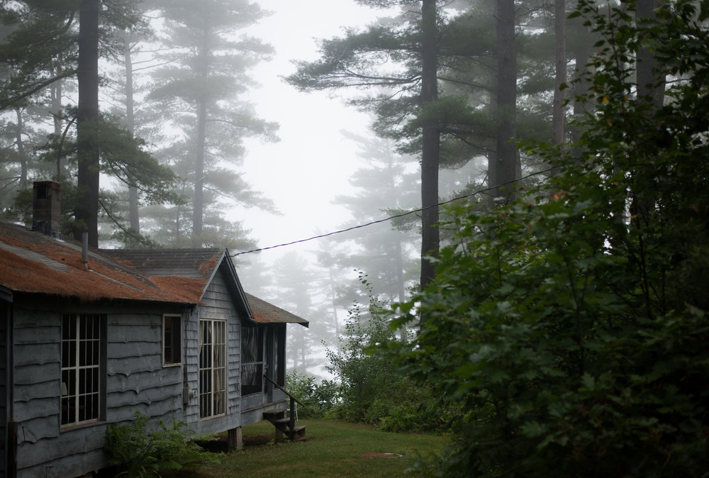 I stayed here - at the 'Pine Clad' cabin....
