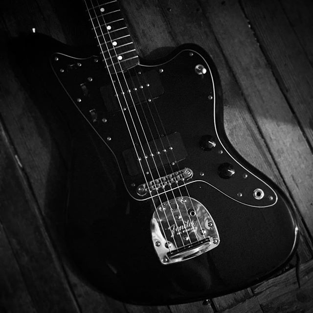 2010 Fender Jazzmaster Classic Player murdered out.  #fender #jazzmaster #allblack #murderedout #classicplayer