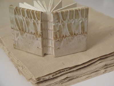 cotton pants paper with book covered with the cloth