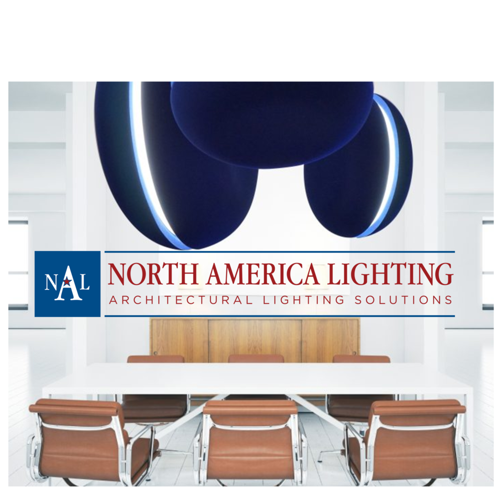 North American Lighting - North America Lighting partners with premier brands from around the world in order to introduce these new brands and products into the US market. NAL offers unique and innovative products ranging from decorative to architectural lighting for commercial office, public use, and hospitality spaces. We focus on customer service and support through all phases of a project, and are always willing to show samples from the 12 brands that we partner with.