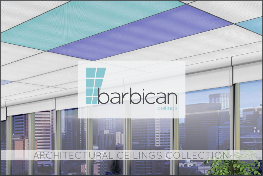 M O X I E - IS PROUD TO BE BARBICAN'S PARTNER FOR THEIR NEW CEILING SYSTEM - STRATUS, STRATUS FRACTUS AND CUMULUS!CONTACT US TO LEARN MORE ABOUT THIS GAME CHANGER