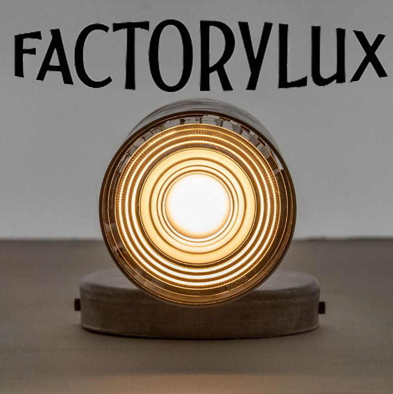 FACTORYLUX - British based performance based contemporary industrial lighting track and shades