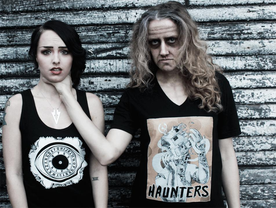 "Documentary ""Haunters"""