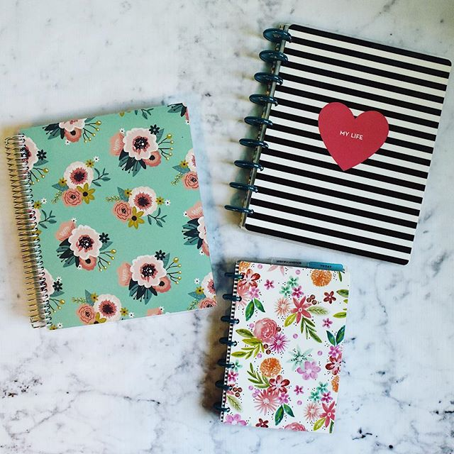 New blog post discussing the merits of @meandmybigideas Happy Planner and @plumpaper Planner! Check the link in my bio! . . #review #planner #plumpaperplanner #happyplanner #planneraddict