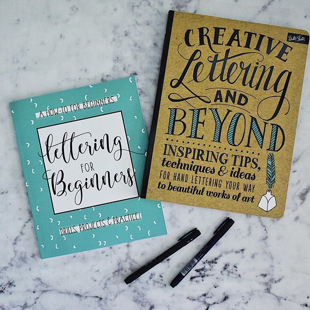 Come check me out on the blog talking about my adventures in lettering!! . . #tombow #adventuresinlettering #handlettering #brushlettering