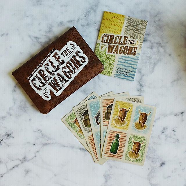 I'm in love with the wallet games from @buttonshy games! Got this one through one of their Kickstarters and the husband and I really like it! I love being able to have a game in my purse at all times! . . #games #buttonshygames #kickstarter