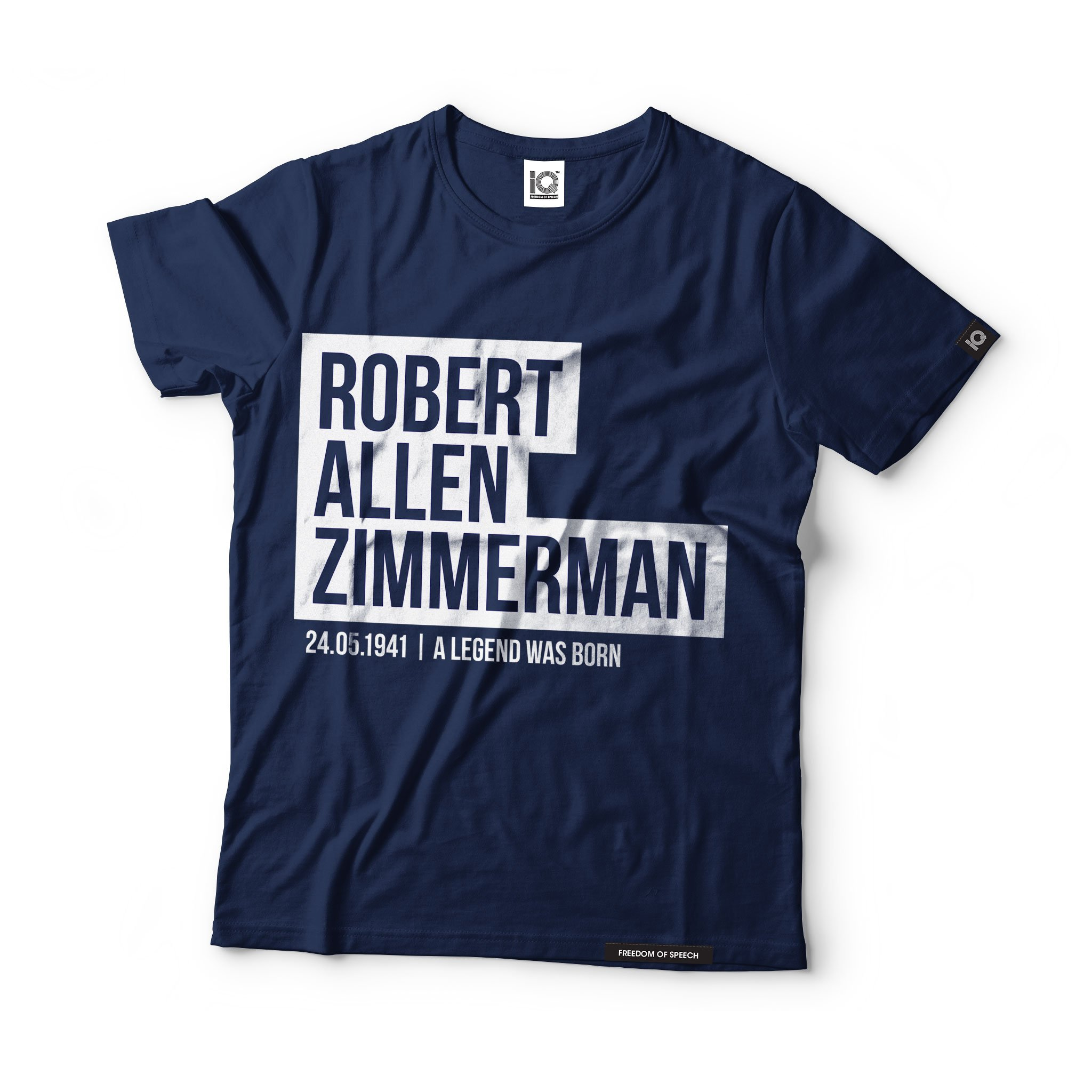 We Are Iq Robert Allen Zimmerman T Shirt Made Great In