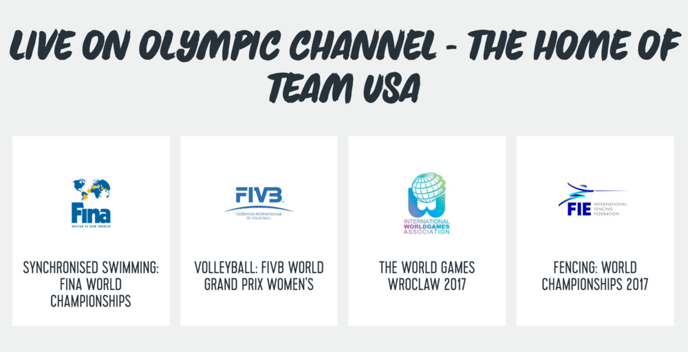 Screenshot: OlympicChannel.com