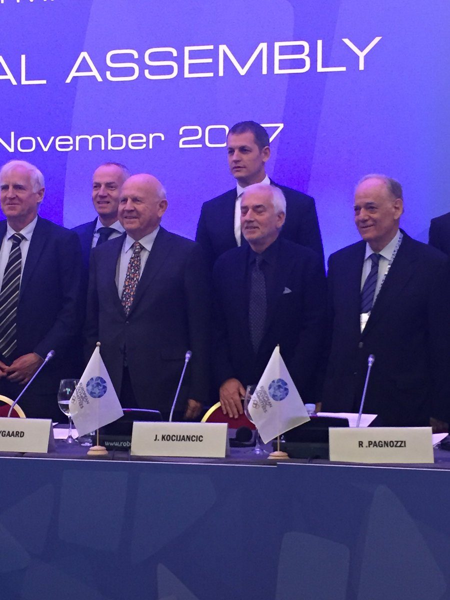Newly Elected EOC President Janez Kocijancic